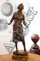 JOHN STUART DOWIE (BORN 1915) Model of Jennifer Cashmore wax on timber base