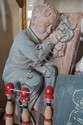DAVID BROMLEY (BORN 1960) Sleeping Boy painted carved timber