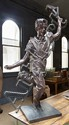 DAVID BROMLEY (BORN 1960) Celebration cast bronze
