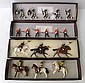 FOUR SETS OF IMPERIAL PRODUCTIONS COLLECTORS FIGURES INCLUDING NO.30 ZULU REGIMENT; NO.32 91ST HIGHLANDERS; NO.34 NATAL NATIBE HORSE...