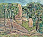 ARCHIBALD CUTHBERTSON Granite Boulders, 1989, Arch Cuthbertson, Click for value