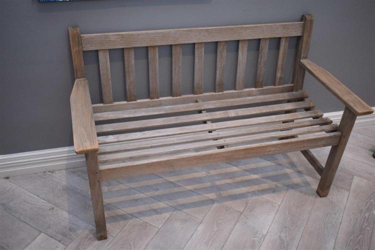 A Pair Of Lister Teak Garden Benches