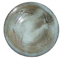 AN EXHIBITION PLATTER BY PETER RUSHFORTH OA (1920-2015), CIRCA 1979