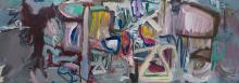 RONALD LAMBERT (1923-1995) No.5 1985 oil on canvas