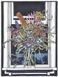 DAVID PRESTON (BORN 1948) Wildflowers 1988 linocut 28/50, David Preston, Click for value