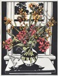 DAVID PRESTON (BORN 1948) Canna Lilies 1988 linocut 28/50, David Preston, Click for value