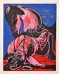CHARLES BLACKMAN (BORN 1928) Pink Nightmare screenprint 3/70