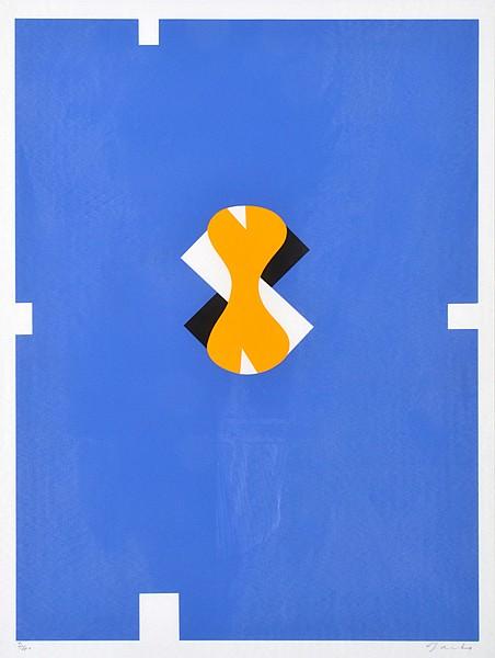 ROBERT JACKS (BORN 1943) Spanish Suite (Blue) screenprint 2/40