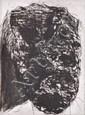 MIKE PARR (BORN 1945) Self-portrait 2003 etching 17/30