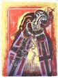 LEONARD FRENCH (BORN 1928) Boris Gudunov 1980 lithograph 108/150