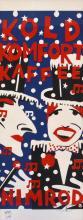 MARTIN SHARP (born 1942) Kold Komfort Kaffee screenprint 890/1000