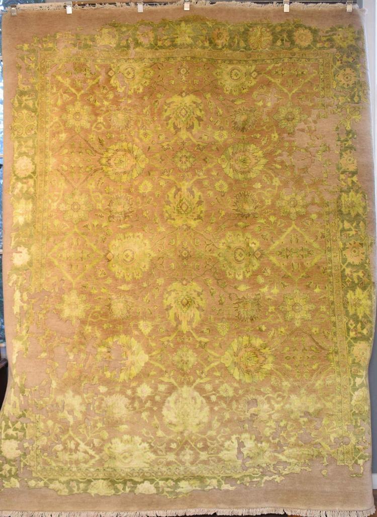 Designer Transitional Decorative Zigler Silk Texture Amp Wool