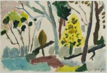 JILL NOBLE (born 1962) Abstract landscape
