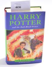 A FIRST EDITION OF HARRY POTTER & THE HALF BLOOD PRINCE, MISS PRINT ON PAGE 99: 11 OWLS CHANGED TO 10 IN OTHER EDITIONS