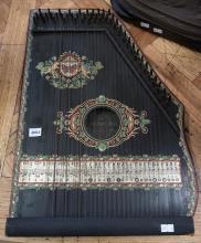 A GERMAN PIANO HARP (MINOR FAULTS)
