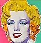 ARTIST UNKNOWN (BORN 20TH CENTURY) Marilyn Monroe mixed media on canvas