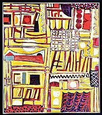 WAYNE EAGER (BORN 1957) Medina 2004, oil on canvas, 122 x 107cm