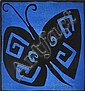 Mark Schaller (born 1962) Butterfly 2006 woodcut 1/30, Mark Schaller, Click for value