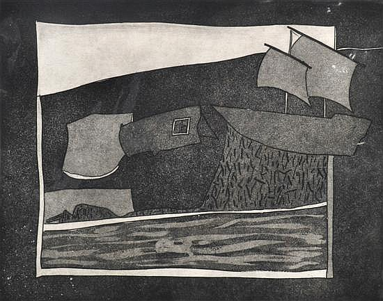 Andrew Southall (born 1947) Untitled 1978 etching 5/10