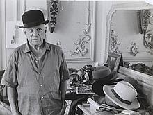 EDWARD QUINN (IRISH 1920-97) Picasso gelatin silver print