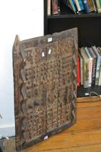 A MALI WOODEN CARVED DOOR