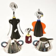 A COLLECTION OF ALESSI, INCL. LIGHTER, BOTTLE OPENER