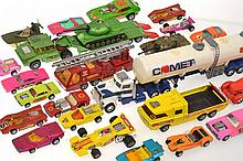 46  X MOSTLY MODERN SUPERFAST MODELS, UNBOXED, A/F (46)
