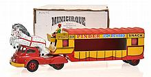 MINICIRQUE 'PINDER' 'JEAN RICHARD' CAB AND LORRY
