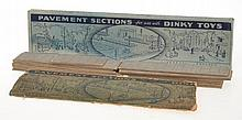 2 X SETS OF DINKY PAVEMENT SECTIONS; ONE BOXED;