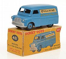 DINKY 481 BEDFORD 10CWT VAN 'OVALTINE'