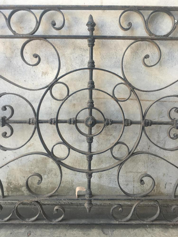 Two heavy decorative wrought iron panels 100cm x 102cm 10 - Wrought iron decorative wall panels ...
