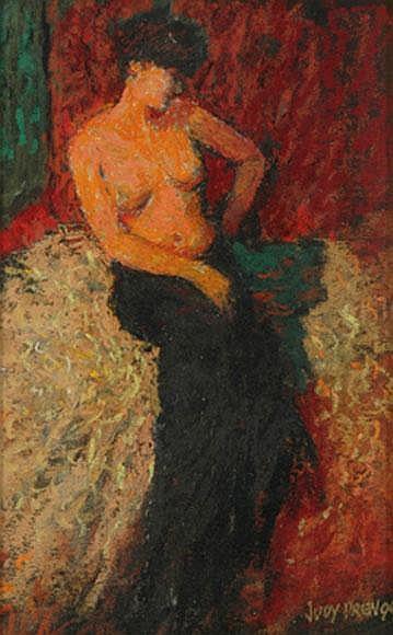 Judy Drew (born 1951) Opulence 1996 pastel on paper
