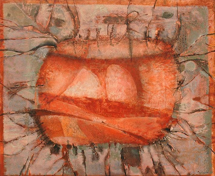 Judy Cassab (born 1920) Circum Vision II 1972 oil on canvas