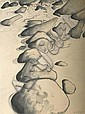 JOEL ELENBERG (1948-1980) Rubicon River 1973 watercolour, Joel Elenberg, Click for value