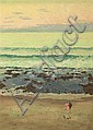 CHARLES BUSH (1919-1989) Seascape oil on canvas, Charles Bush, Click for value