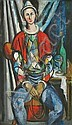 ELAINE HAXTON (1909-1999) Harlequin oil on board, Elaine Haxton, Click for value