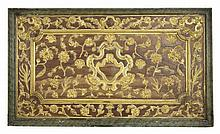 A INDONESIAN DUTCH COLONIAL ARCHITECTURAL WALL PANEL