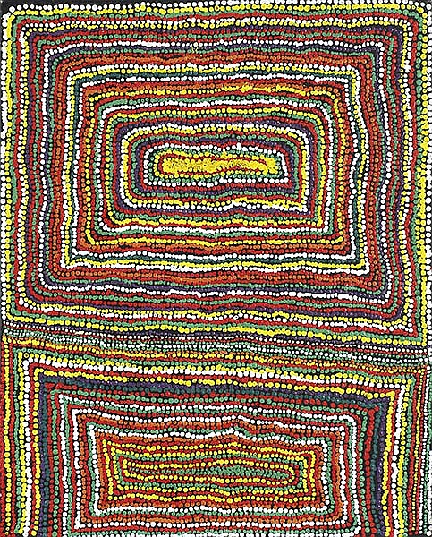 JIMMY DONEGAN (BORN 1940) Pukara 2009 acrylic on canvas