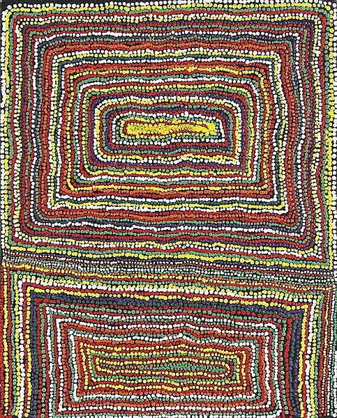 JIMMY DONEGAN (BORN 1940) Pukara 2009 acrylic on canvas