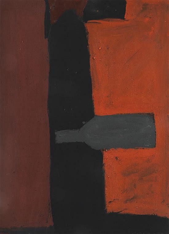 Mike Nicholls (born 1960) Vertical Confession 1997 oil on paper