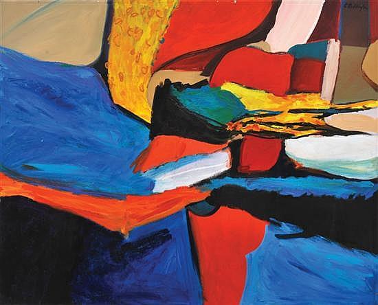Charles Reddington (born 1929) Shelly's Cove oil on canvas