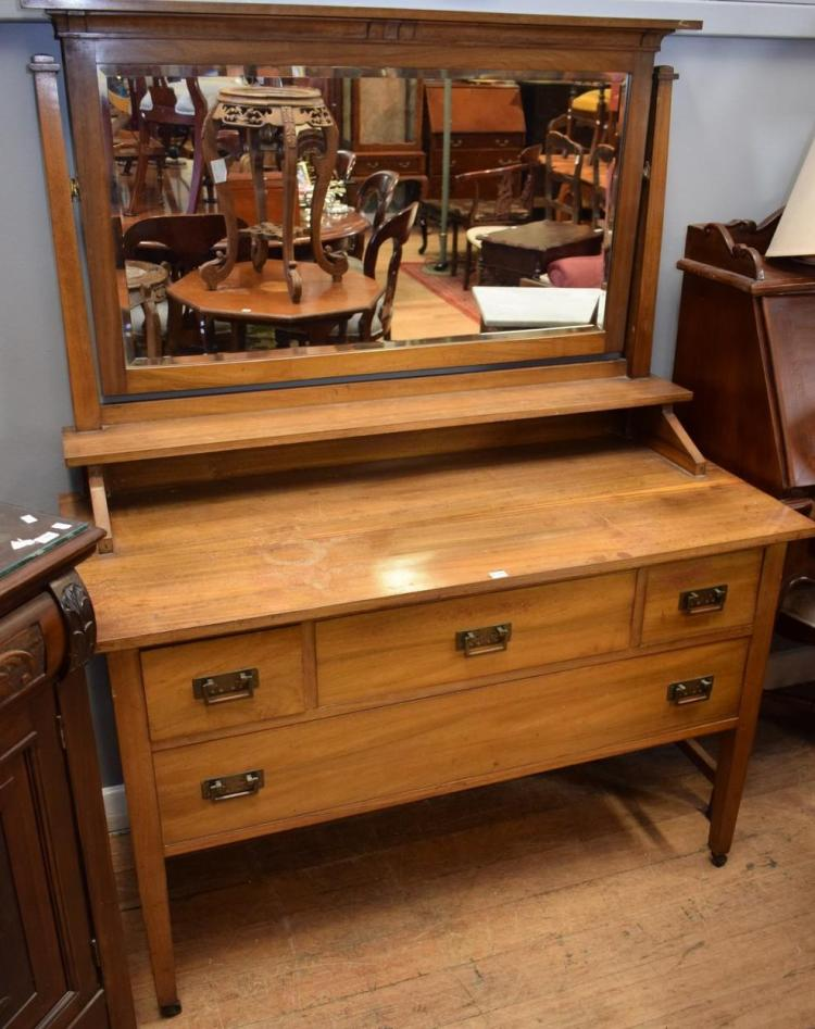 Arts And Crafts Blackwood Dressing Table By H Goldman Melb