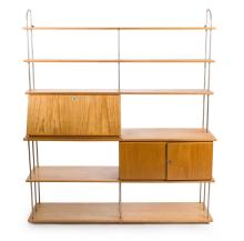 A 1960s CHARLES AND RAY EAMES STORAGE UNIT