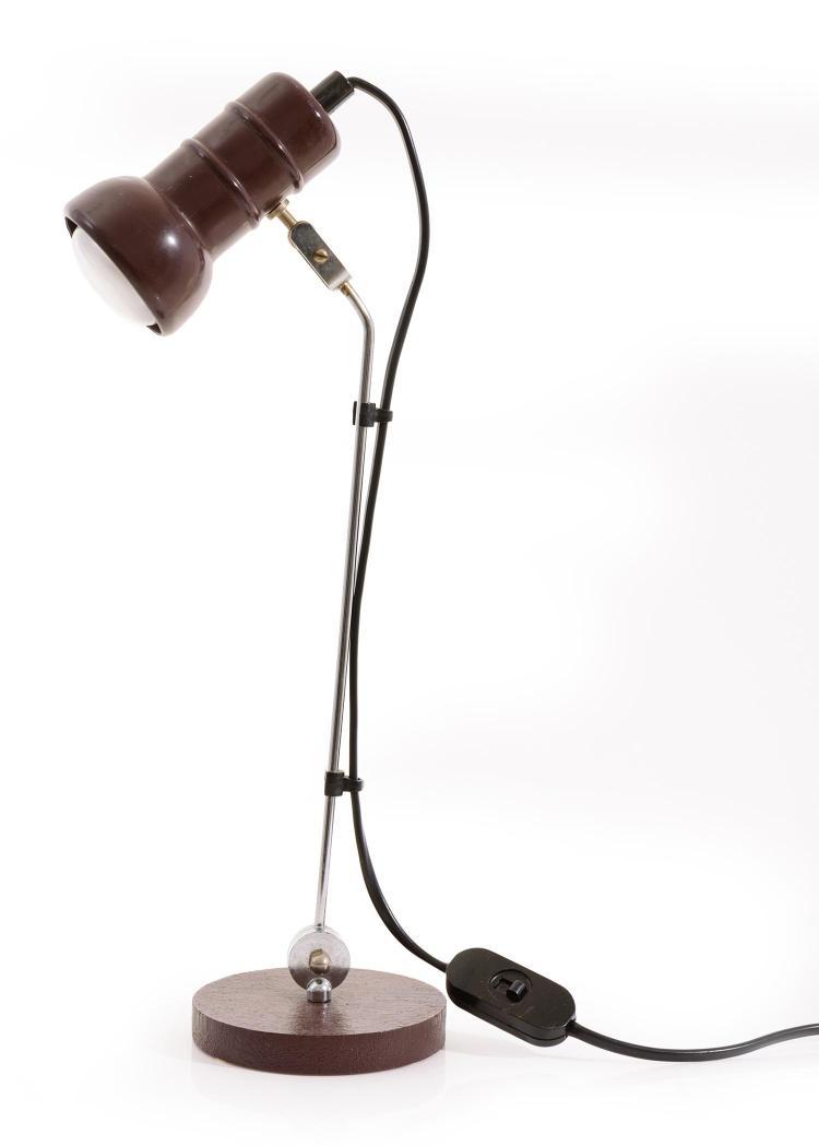 a 1950s max bill swiss desk lamp. Black Bedroom Furniture Sets. Home Design Ideas