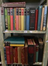 TWO SHELVES OF ASSORTED BOOKS