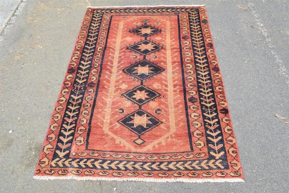 A Tribal Persian Luri Rug 100 Wool And All Natural Dyes In
