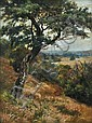 W. Follen Bishop (1856-1936) View of the Valley of Evesham oil on canvas, Walter Follen Bishop, Click for value