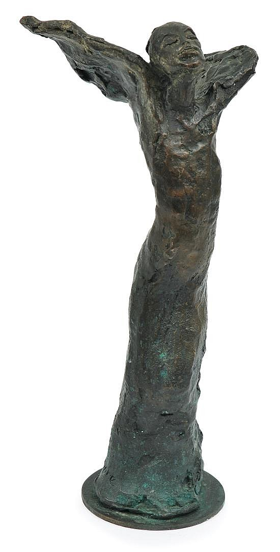Lenore Boyd (born 1953) Angel bronze 3/12