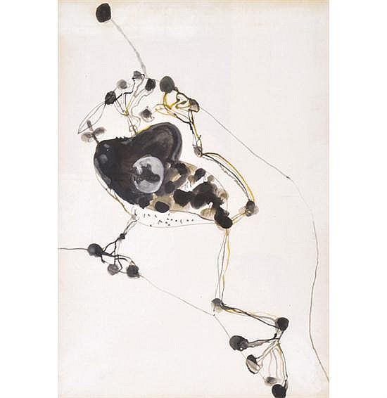 JOHN OLSEN (BORN 1928) Frog and Fly digital lithograph 90/90