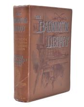 'THE BADMINTON LIBRARY; TENNIS, LAWN TENNIS, RACKETS, FIVES' BY THE DUKE OF BEAUFORT, 1ST EDITION, 1894